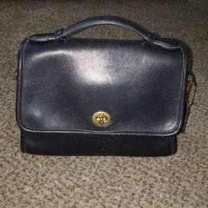 Vintage Coach Court Bag 9870   .